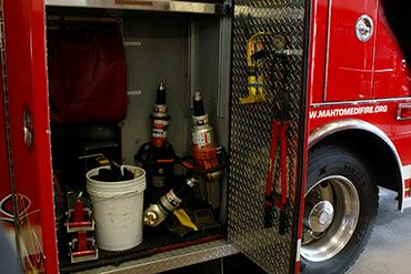 Engine 5016 Equipment Storage